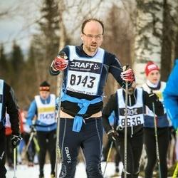 Skiing 90 km - Joakim Thelberg (8143)