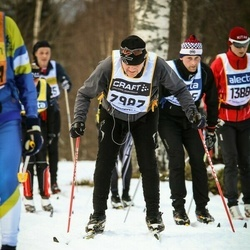 Skiing 90 km - Allan Sundström (7987)