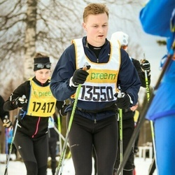 Skiing 90 km - Peter Eriksson (13550)