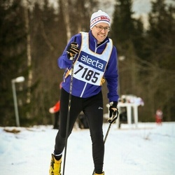 Skiing 90 km - Herbert Gunell (7185)