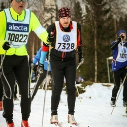 Skiing 90 km - Magnus Oderstam (7328)