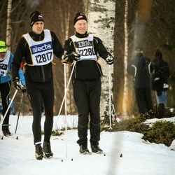 Skiing 90 km - Fredrik Carlund (12280)
