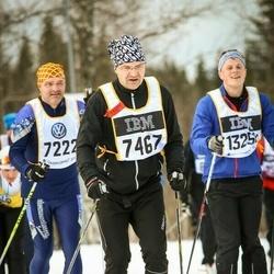 Skiing 90 km - Micky Carlfalk (7222), Martin Bramsved (7467)