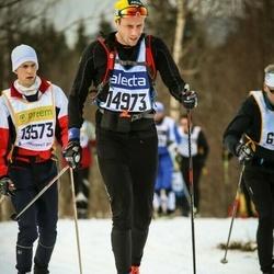 Skiing 90 km - Henrik Siösteen (14973)