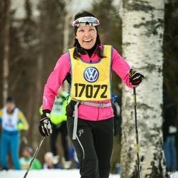 Skiing 90 km - Jeanette Nilsson (17072)