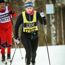 Skiing 90 km - Ida Backe (17366)