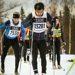Skiing 90 km - Erik Lindén (13281)