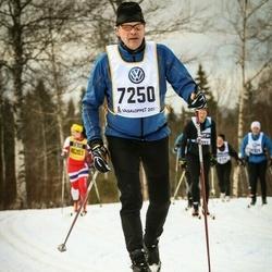 Skiing 90 km - Björn Ahlnäs (7250)