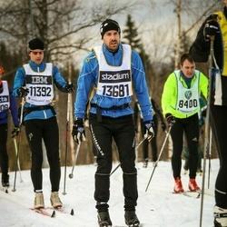 Skiing 90 km - Christian Linde (13681)