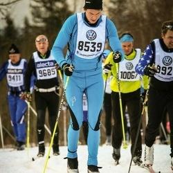 Skiing 90 km - Daniel Cadei (8539)