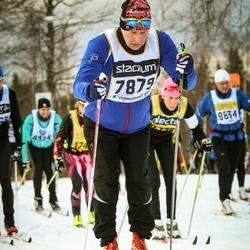 Skiing 90 km - Jan-Erik Kram (7879)