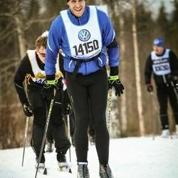 Skiing 90 km - Henrik Larsson (14150)