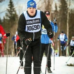 Skiing 90 km - Fredrik Rova (10690)