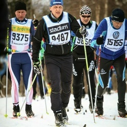 Skiing 90 km - Olof Petersson (9487), Diethelm Otto (15155)