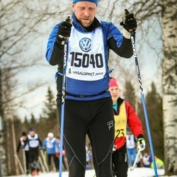 Skiing 90 km - Bror Stefan Sandin (15040)