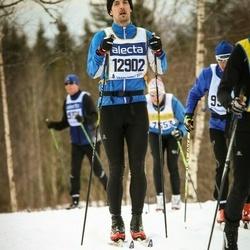 Skiing 90 km - Erik Möller (12902)