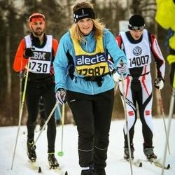 Skiing 90 km - Christina Vestman (17987)