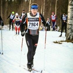 Skiing 90 km - Emil Karlsson (7964)