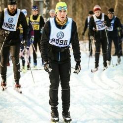 Skiing 90 km - Christoffer Lindebring (9990)