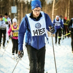 Skiing 90 km - Andreas Fahlstedt (14153)