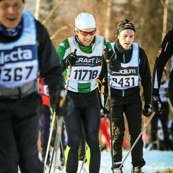 Skiing 90 km - Johan Eriksson (11718)
