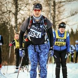 Skiing 90 km - Aleksei Landychev (9594)