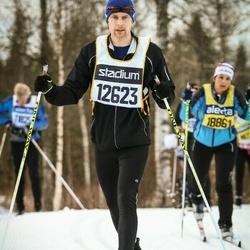 Skiing 90 km - Dan Pettersson (12623)