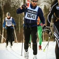 Skiing 90 km - Fredrik Olsén (10643)