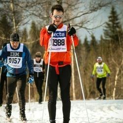 Skiing 90 km - Andreas Grybäck (11988)