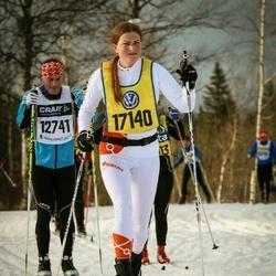 Skiing 90 km - Tina Forslund (17140)