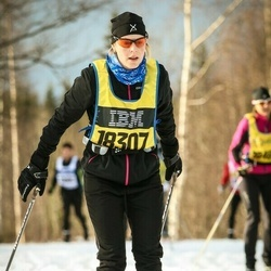 Skiing 90 km - Linda Einarsson (18307)