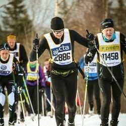 Skiing 90 km - Börje Svensson (11458), Zachary Ganz (12886)