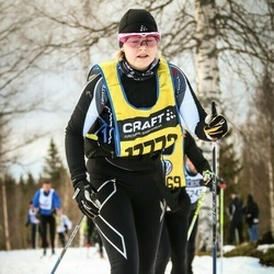 Skiing 90 km - Carmita Leander (17772)