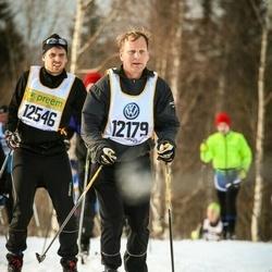 Skiing 90 km - Christoffer Bohrn (12179)
