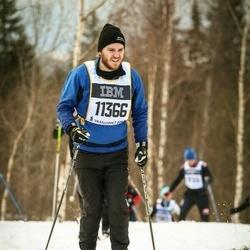 Skiing 90 km - Fredrik Corander (11366)