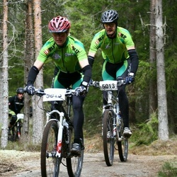 Dalsland XC - Mikael Och Madeleine Björkqvist (5013), Annica Och Stefan Sandersson (5015)