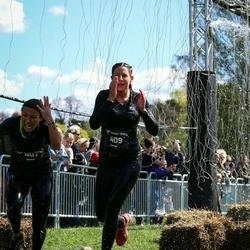 Tough Viking Stockholm Hagaparken - Maria Rodriguez Lundin (407), Alexandra Rodriguez Lundin (409)