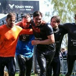Tough Viking Stockholm Hagaparken - Christoffer Magnusson (11), Christian Fransson (12), David Lagerdahl (20)