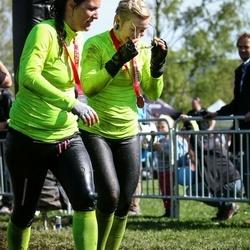 Tough Viking Stockholm Hagaparken - Liisa Sterming (3422), Malin Sjöberg (3424)