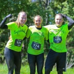 Toughest Stockholm - Micaela Sjöberg (174), Elin Andersson (181), Simon Johansson (189)