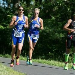 ITU Long Distance Triathlon World Championships - Camilla Dahlström (535), Britt Welander (537)