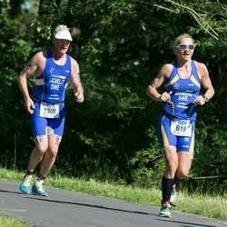 ITU Long Distance Triathlon World Championships - Susanne Åkerberg (619), Tommy Lacandler (1300)
