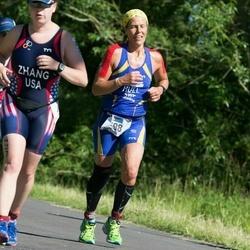ITU Long Distance Triathlon World Championships - Kristen Zhang (427), Anna Hull (598)
