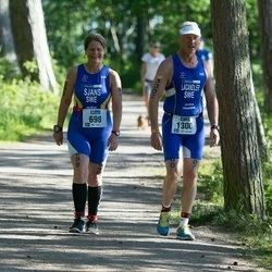 ITU Long Distance Triathlon World Championships - Monica Sjans (698), Tommy Lacandler (1300)