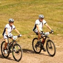 Cycling 45 km - Lena Sagré (5076), Anders Sagré (5077)