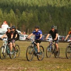 Cycling 45 km - Tobias Janson (5551), Martina Gabrielsson (5707), Svante Rosén (5724)