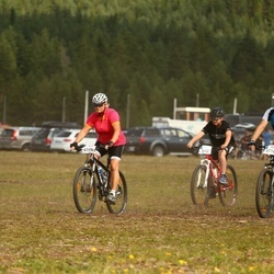 Cycling 45 km - Leo Eriksson (5512), Anna Norberg (5569), Johan Hedlund (5716)