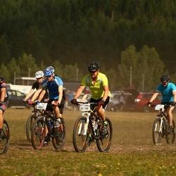 Cycling 45 km - Daniel Eriksson (5637), Tom Blomqvist (5738)