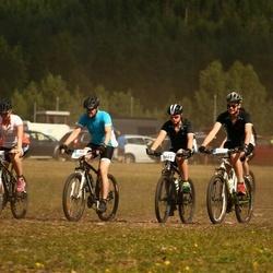 Cycling 45 km - Roger Olsson (5540), Hampus Olsson (5543)