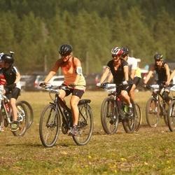 Cycling 45 km - Filippa Gistrand (5506), Lotta Tjernberg (5588), Agneta Stenberg (5740)